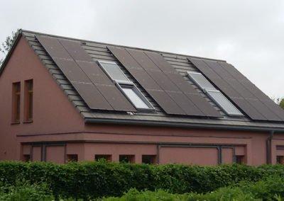 PVA Freiberg 6,6 kWp, Baujahr 2016