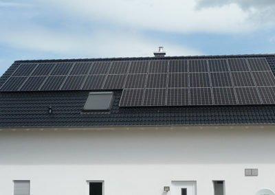 PVA Bannewitz 9,9 kWp, Baujahr 2016