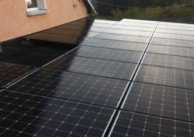 PVA Hermsdorf 9,9 kWp, Baujahr 2017