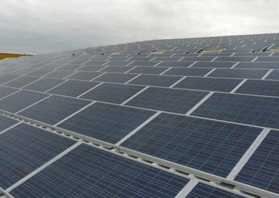 PVA Riesa 92,73 kWp, Baujahr 2011